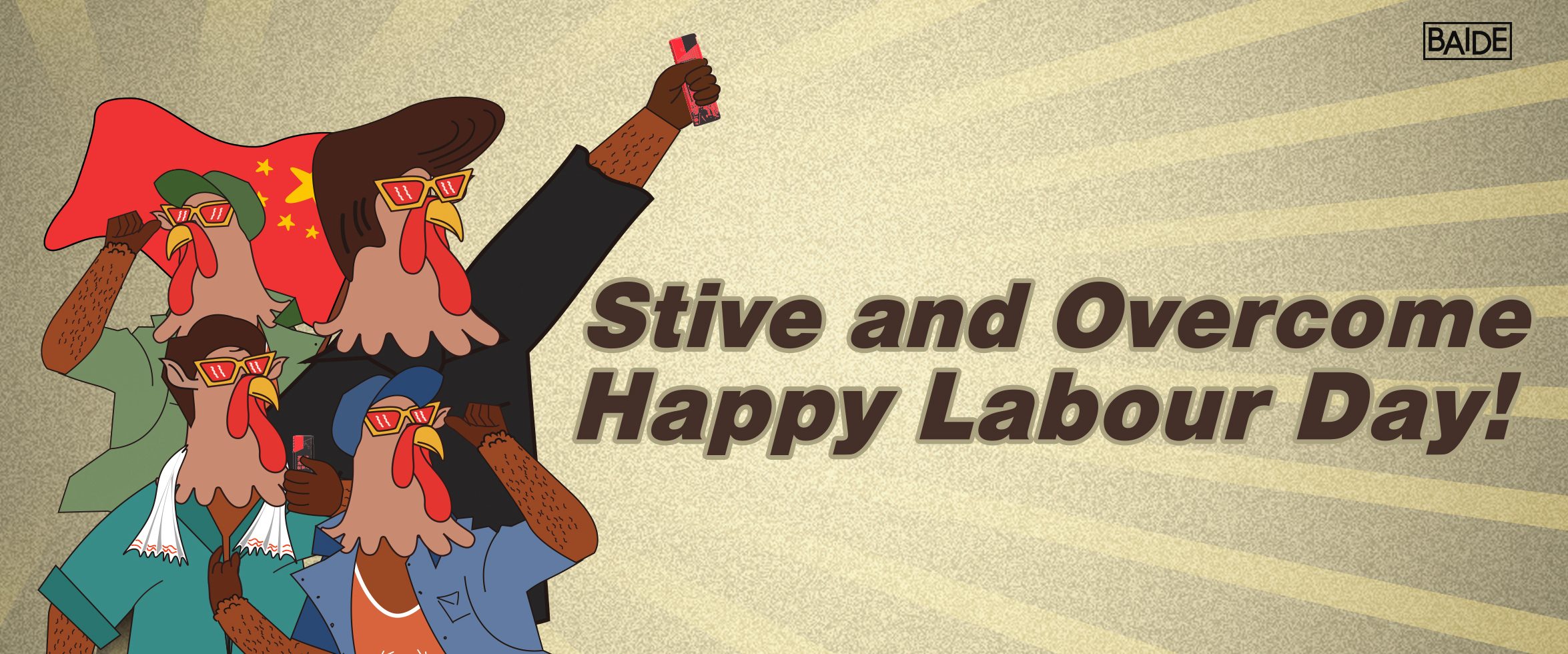 Strive and Overcome, Happy Labour Day!
