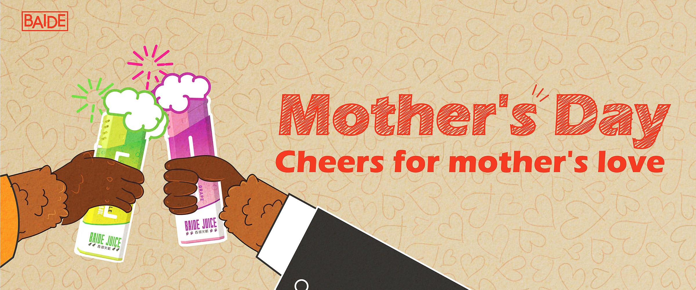 Mother's Day: Cheers for mother's love