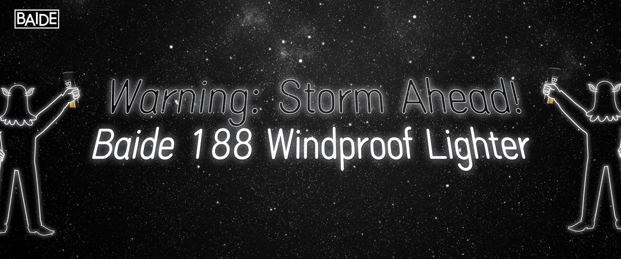 Warning: Storm Ahead!